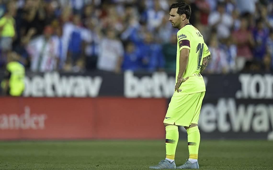 Leganés sorprendió al Barcelona y lo vence 2-1 en la Liga española
