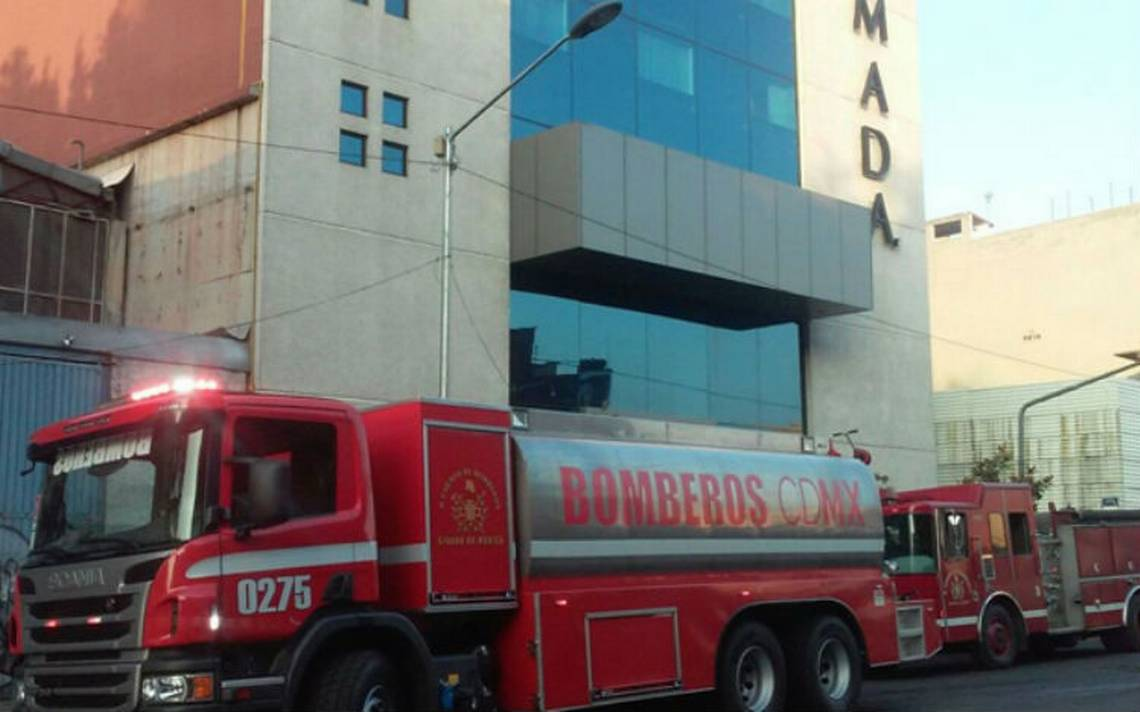 Incendio despierta a clientes de un hotel en la Cuauhtémoc