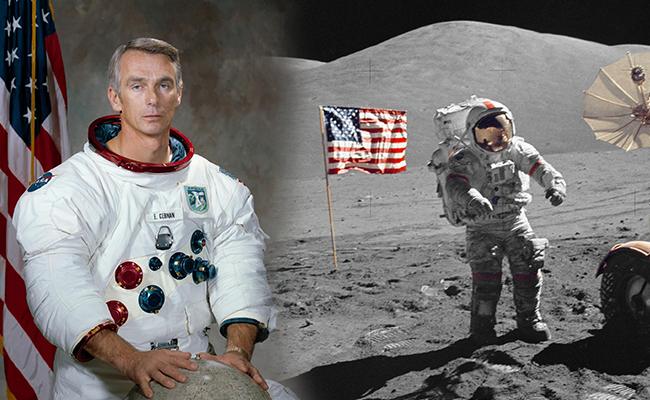 Muere Eugene Cernan, el último astronauta en caminar en la Luna