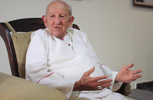 Vivir alejado del demonio para vivir 95 años: arzobispo de SLP
