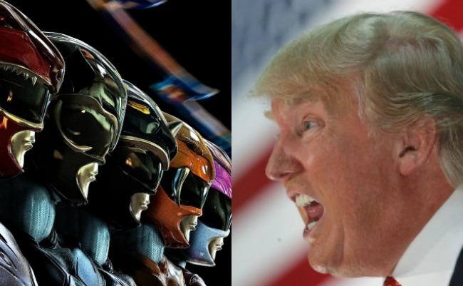 """Creador de """"Power Rangers"""" arremete contra Trump"""