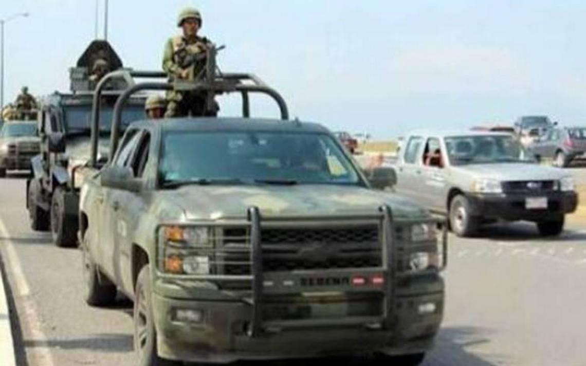 """Despliegan tropas militares en Reynosa para evitar enfrentamientos tras muerte de """"El Betito"""""""