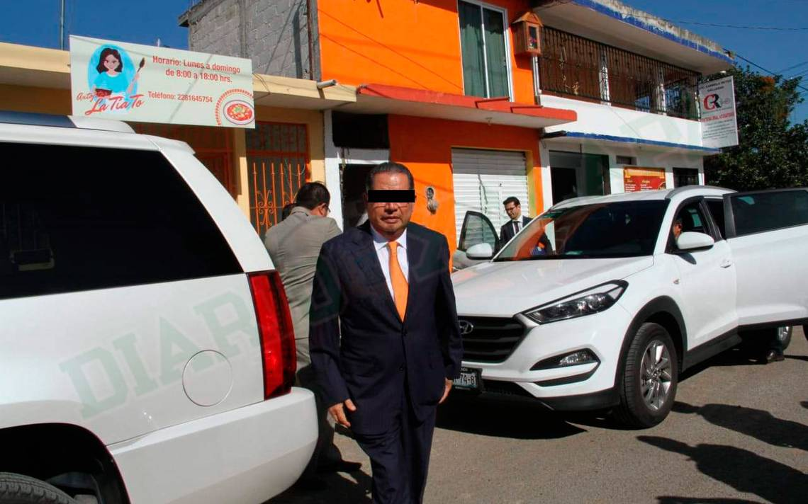 Flavino Ríos reaparece; llega a audiencia de vinculación a proceso en Veracruz