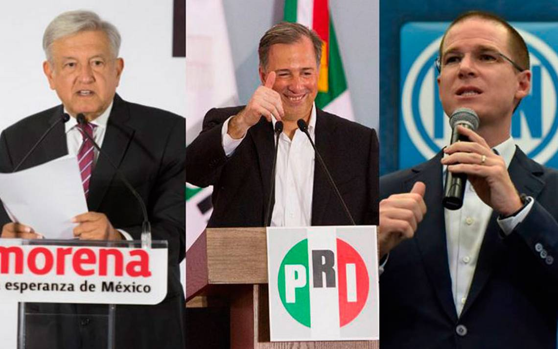 Aspirantes a la Presidencia son católicos, excepto López Obrador