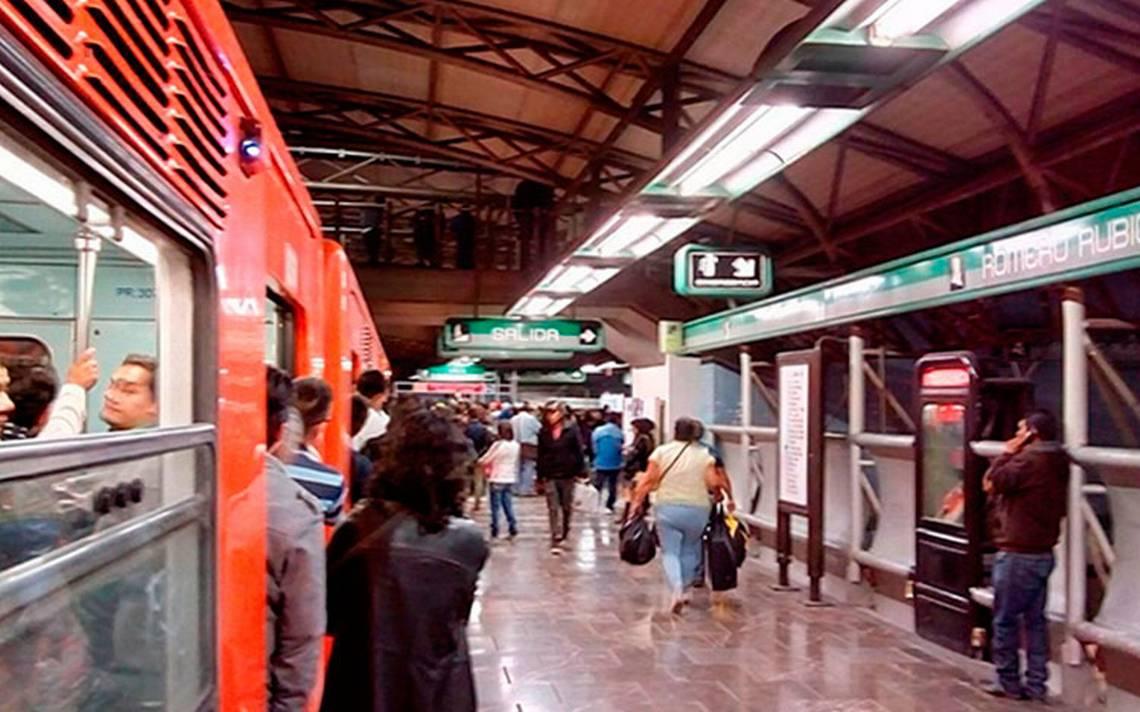 Refuerzan seguridad en el Metro tras riña en estación Romero Rubio