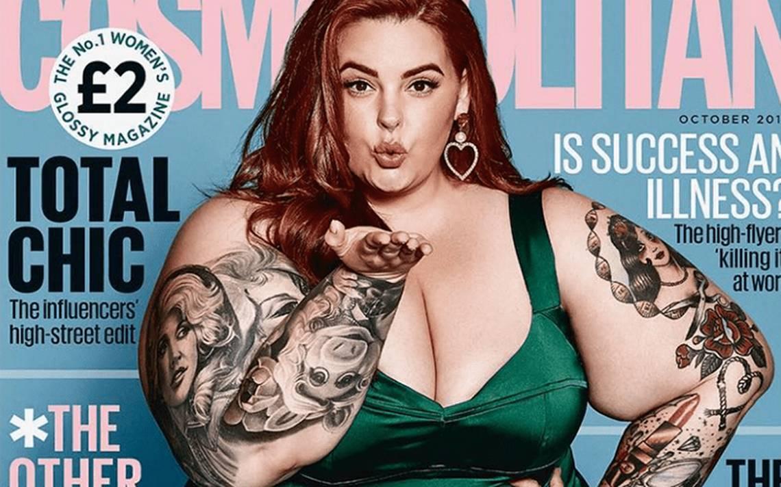 Cosmopolitan rompe estándares con Tess Holliday en portada