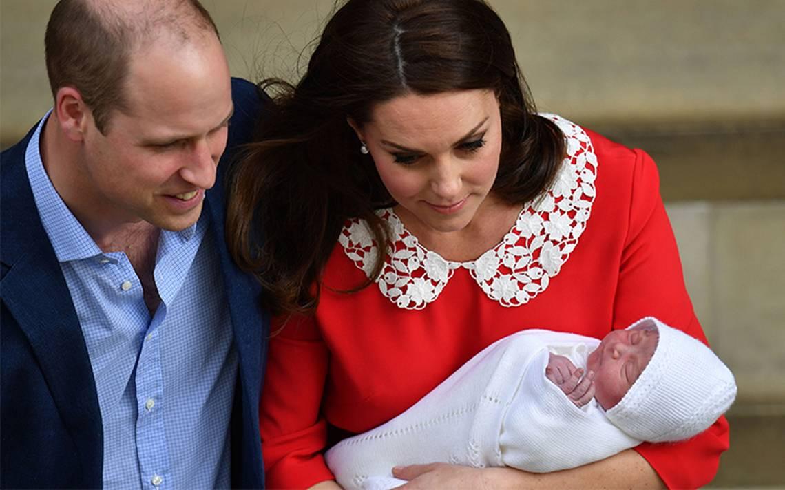 Duques de Cambridge revelan el nombre de su tercer hijo