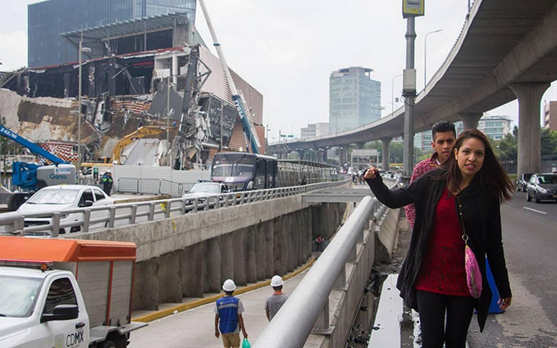 Plaza Artz Pedregal colapsó por error de cálculo estructural, según peritajes