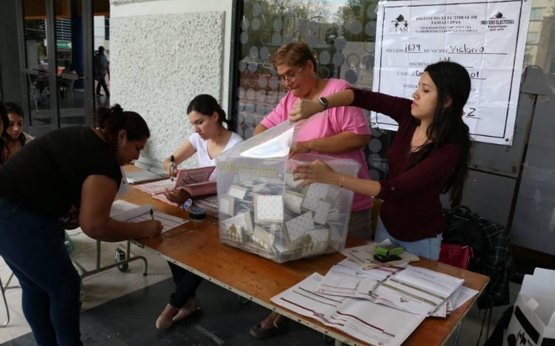 Pese a violencia, INE en Tamaulipas no tiene reportes que afecten jornada electoral