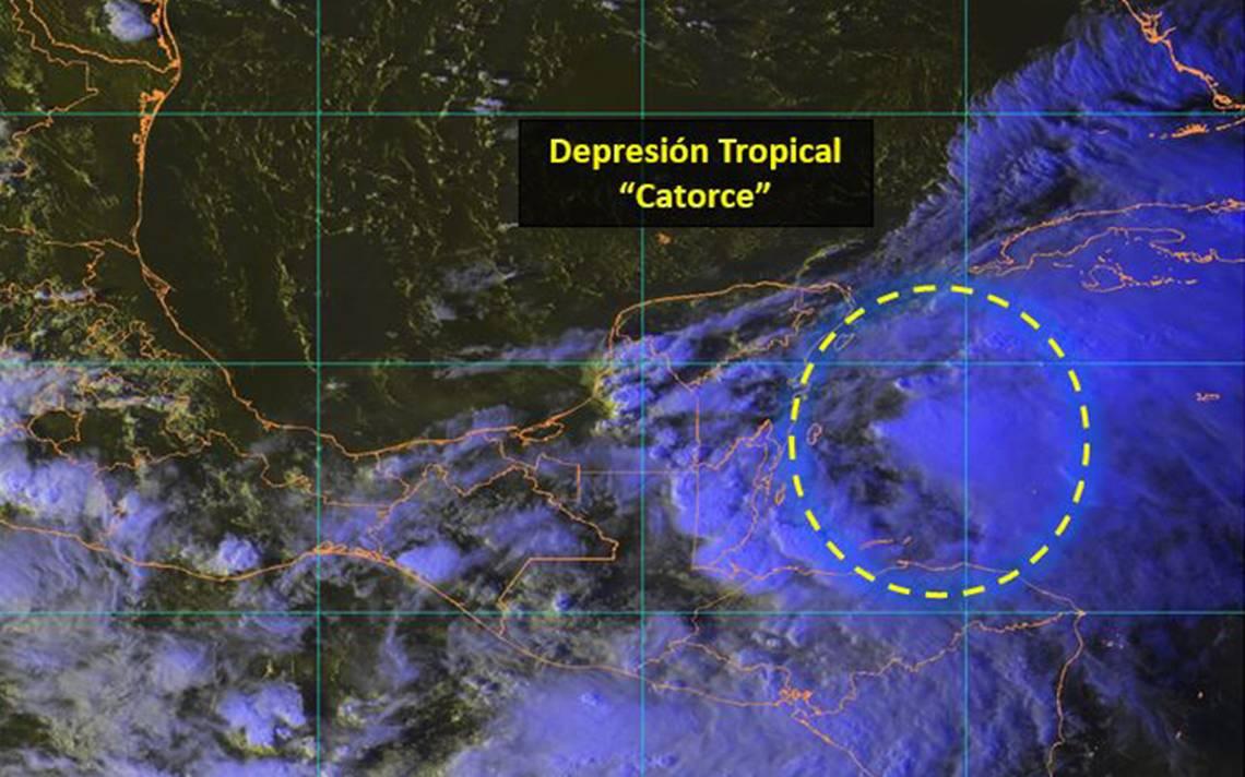 Activan alerta azul y verde en municipios de Quintana Roo por lluvias