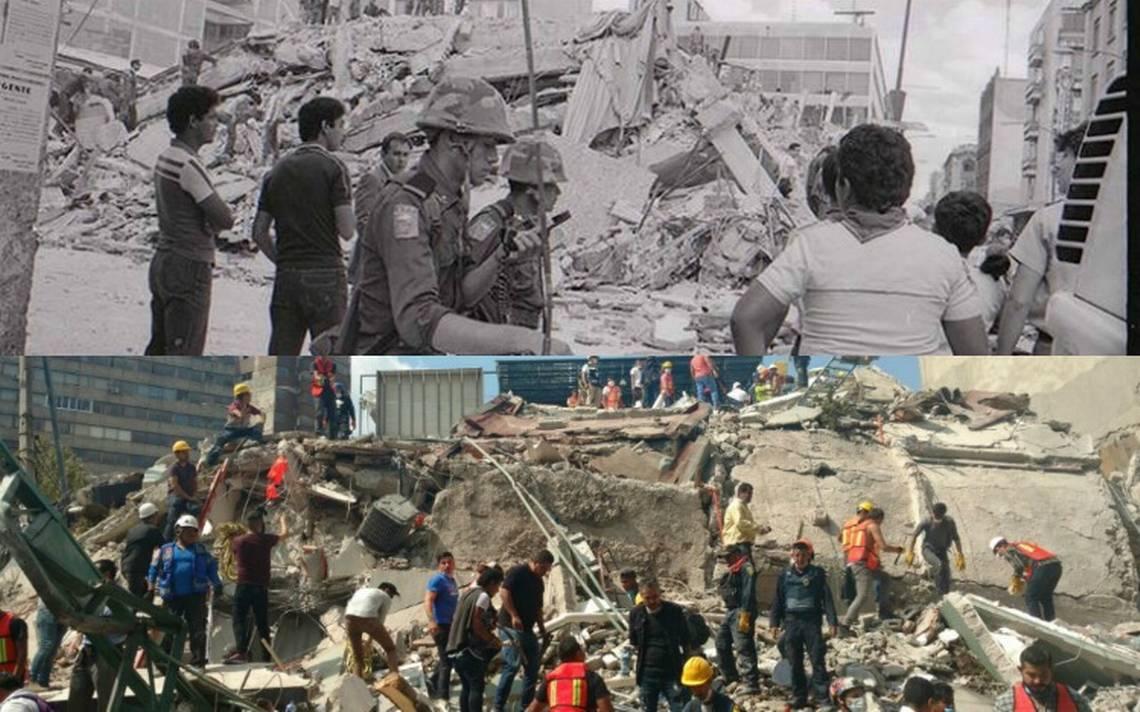 CDMX revive 32 años después misma angustia durante fuerte sismo