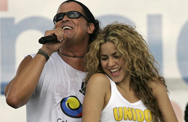 """Shakira y Carlos Vives defienden su éxito """"La bicicleta"""""""