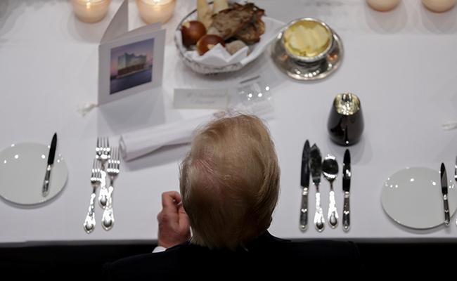 "Cena secreta con Putin, otra ""fake news"" enfermiza: Trump"