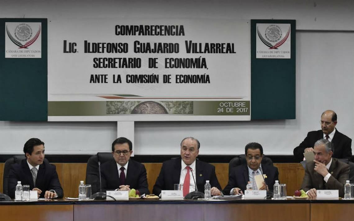 México no se va a levantar de la mesa de negociaciones por más difícil que sean las propuestas: Guajardo