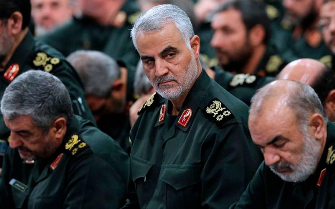 Irán está preparado si EU inicia una guerra: general  Qasem Soleimaní