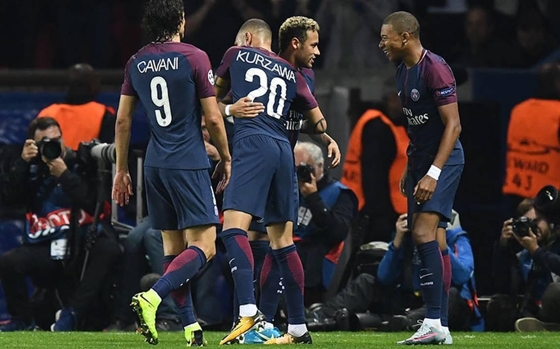 PSG se luce en Champions: Barcelona, United y Chelsea también ganan