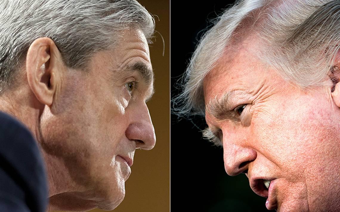 """Trump afirma que tuvo una """"desagradable"""" relación comercial con Robert Mueller"""