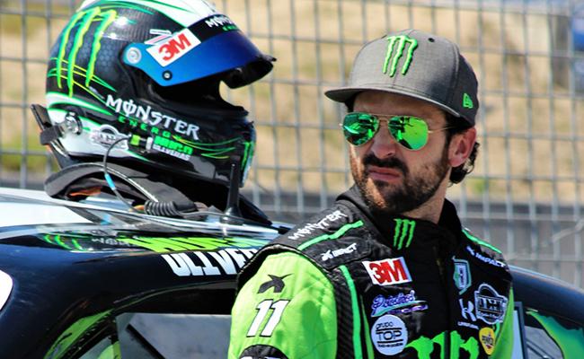 El piloto Hugo Oliveras quiere ganar en la NASCAR PEAK México Series.
