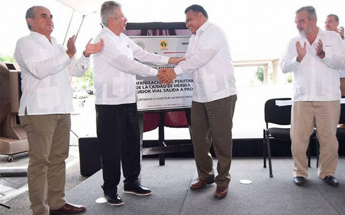 SCT inaugura modernización del Periférico de Mérida
