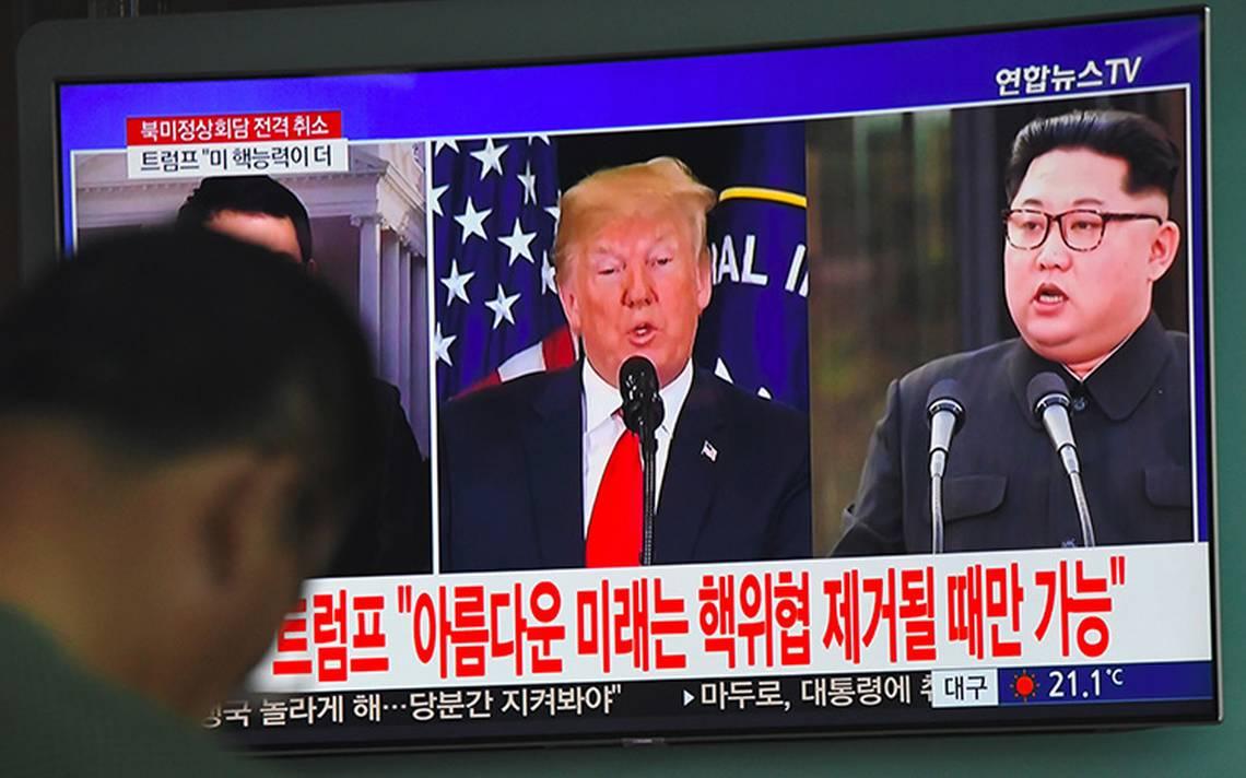 Trump aún espera posible cumbre en junio con Kim Jong Un