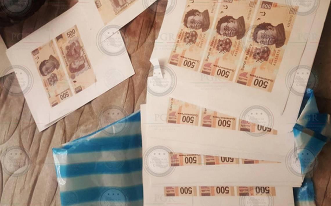 Aseguran fábrica de billetes falsos en Iztapalapa