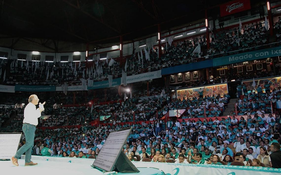 Ni Místico ni Atlantis… es Meade quien llena la Arena México