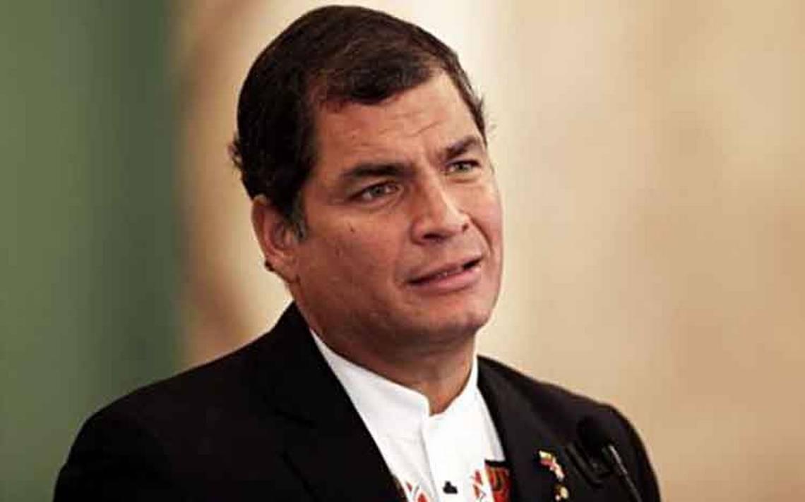 Orden de detención, complot del gobierno de Ecuador: expresidente Rafael Correa