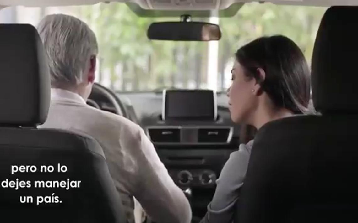 """Lozano habla de la """"mala salud"""" de AMLO en polémico spot"""
