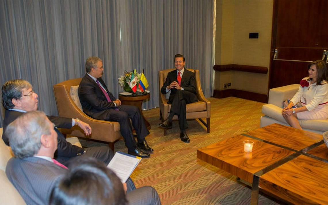 México y Colombia fortalecen relaciones en comercio y seguridad