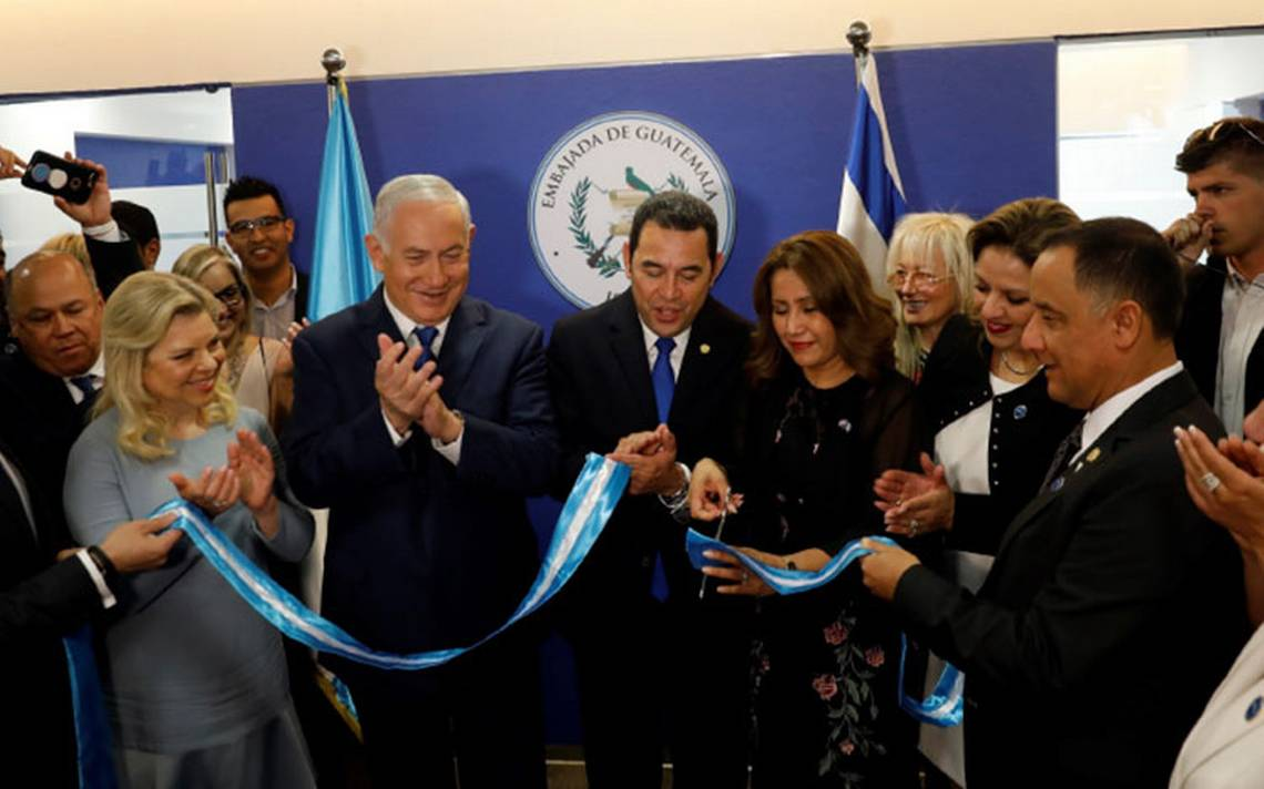"""Guatemala toma """"una decisión valiente"""" y abre Embajada en Jerusalén"""