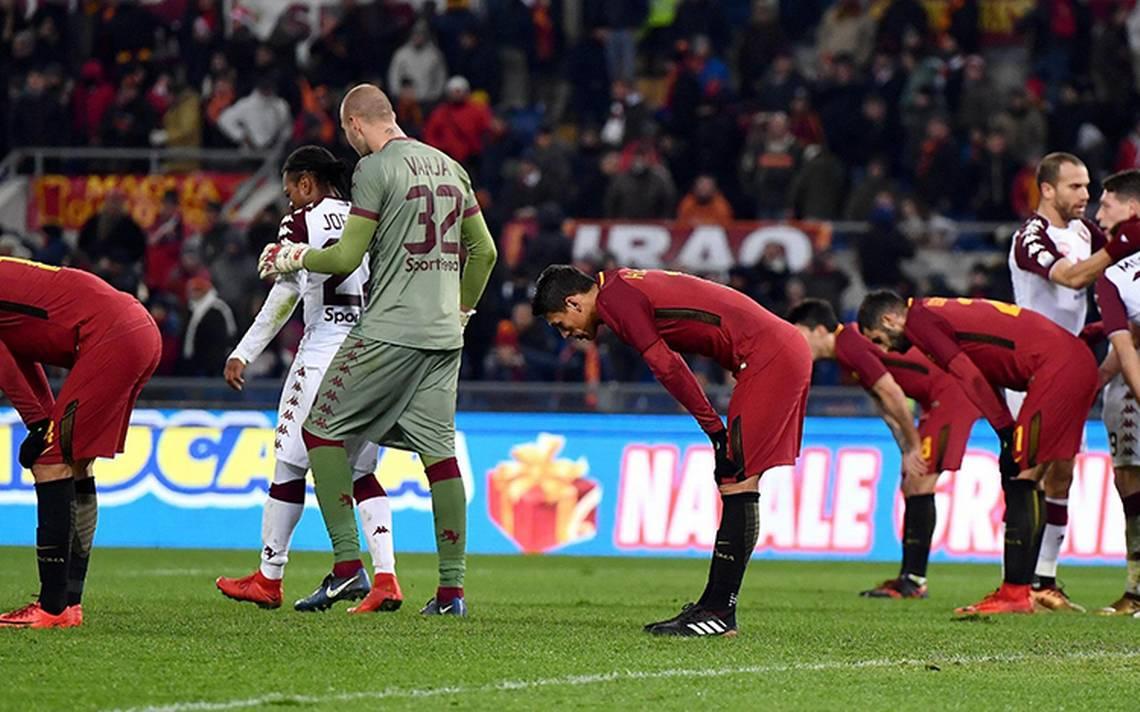 Roma eliminada de la Copa italiana