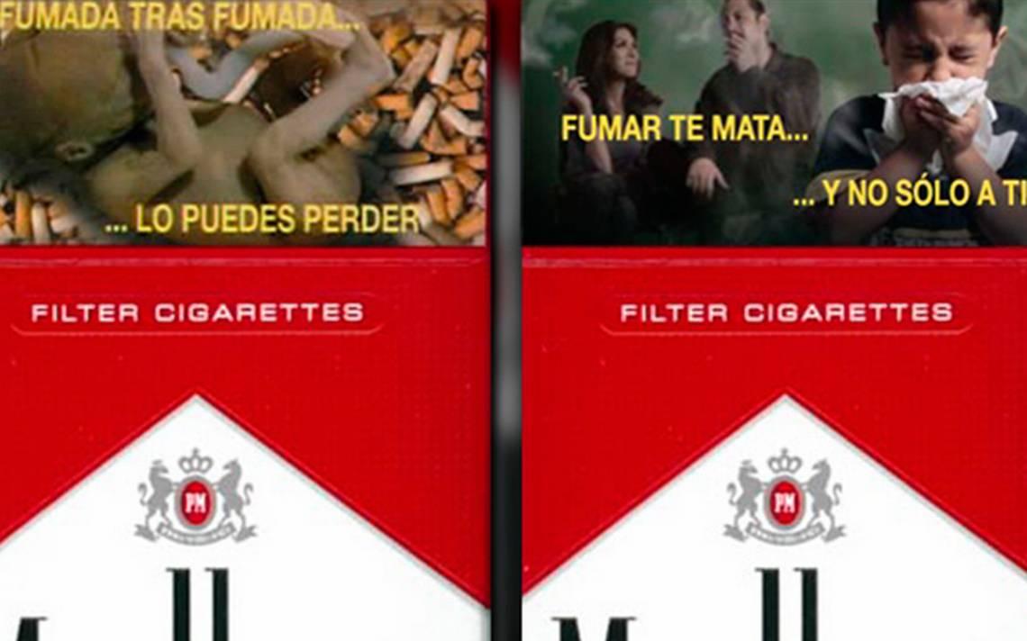 Este 1 de diciembre cajetillas de cigarros tendrán nuevas advertencias