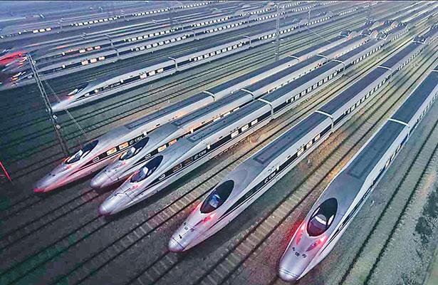 China construirá  9 mil kilómetros de vía férrea en 2017