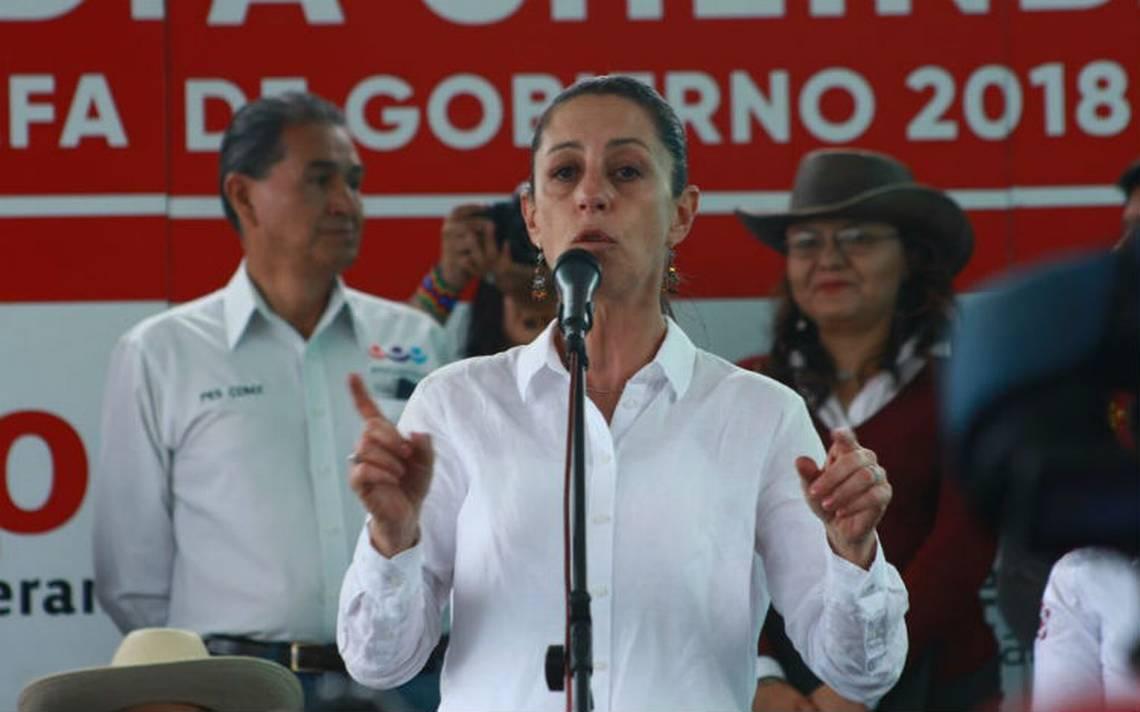 Claudia Sheinbaum promete invertir en pueblos originarios de la capital