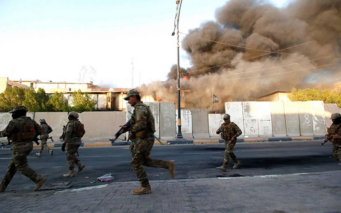 Impactan tres proyectiles en aeropuerto de Basora, Irak sin causar víctimas