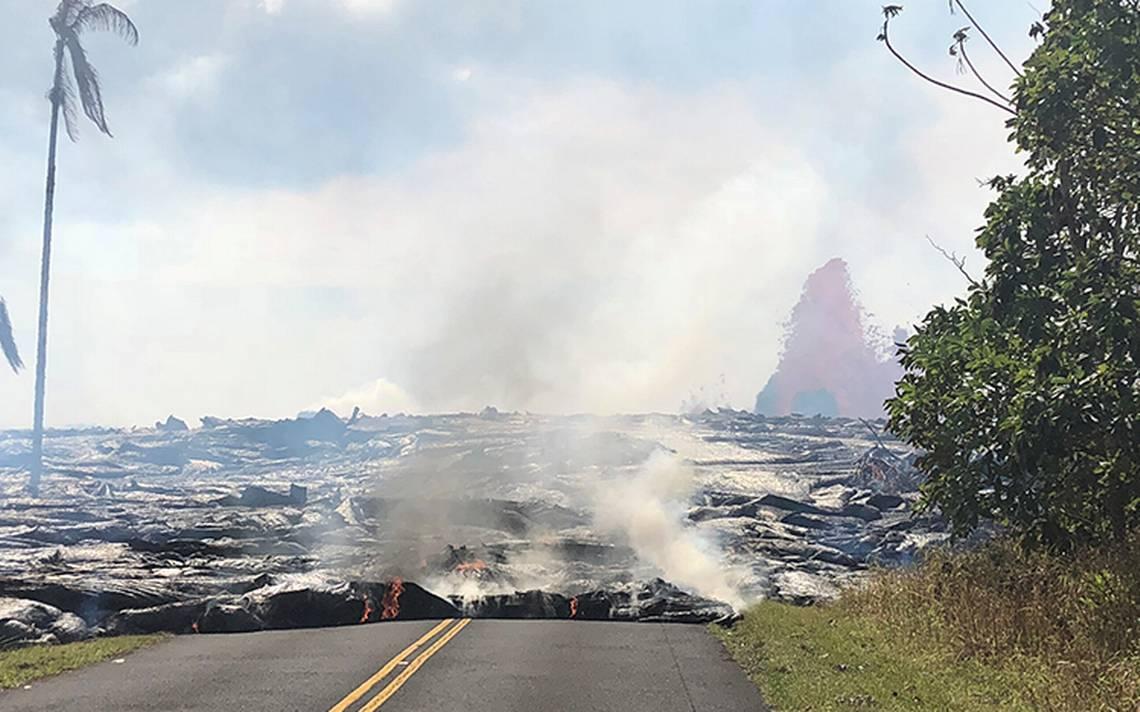 Lava del Kilauea cubre pozo de planta geotérmica en Hawai; descartan riesgo