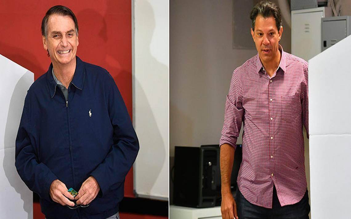 Bolsonaro, el Donald Trump de Brasil, confirma favoritismo, pero habrA? segunda vuelta