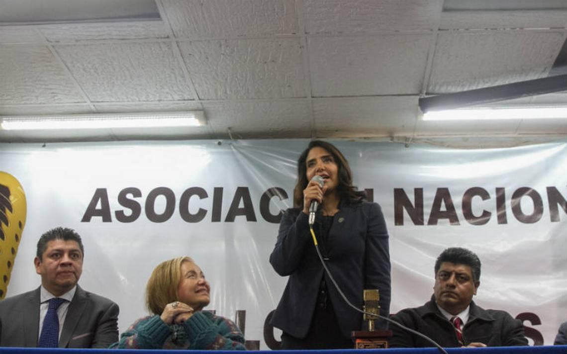Alejandra Barrales denuncia presunta campaña para desprestigiarla