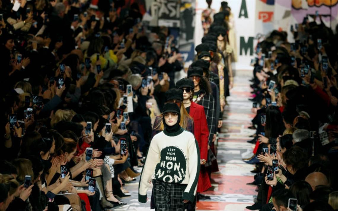 Belinda y Dior celebran a la mujer libre en Semana de la Moda de París