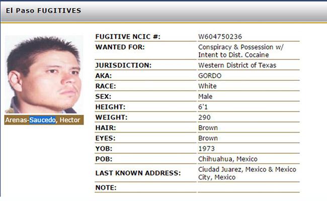 Capturan a El Gordo, presunto líder del cártel de Juárez