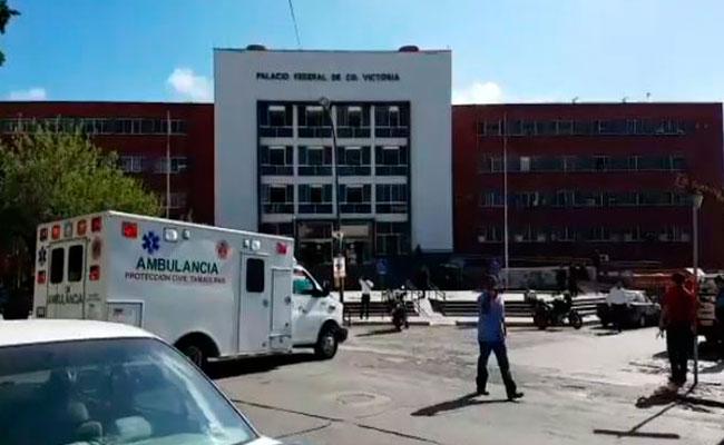 Falsa la amenaza de bomba en Palacio Federal de Cd. Victoria