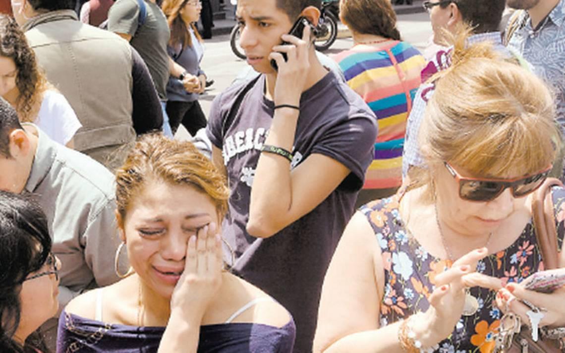 El 54% de capitalinos con estrés postraumático por sismos