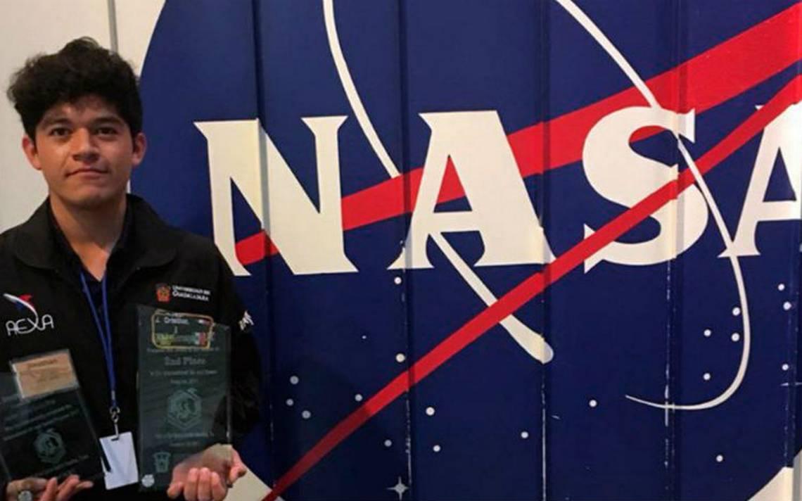NASA selecciona a estudiante de Tultepec para representar a México