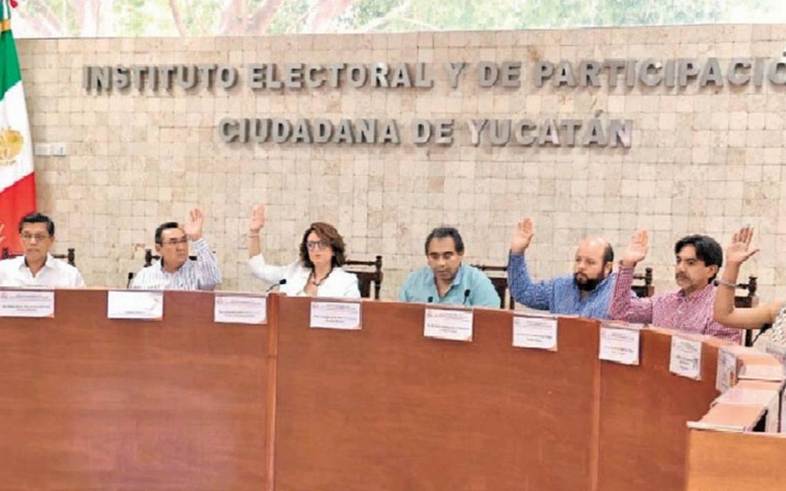El Iepac de Yucatán se declara en sesión permanente para efectuar el conteo de actas