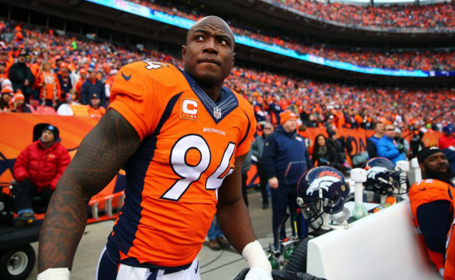 DeMarcus Ware, linebacker de los Broncos, anuncia su retiro de la NFL