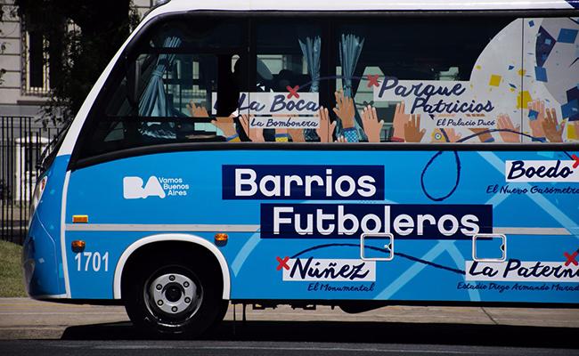 En tus próximas vacaciones, da un tour por los barrios futboleros de Buenos Aires