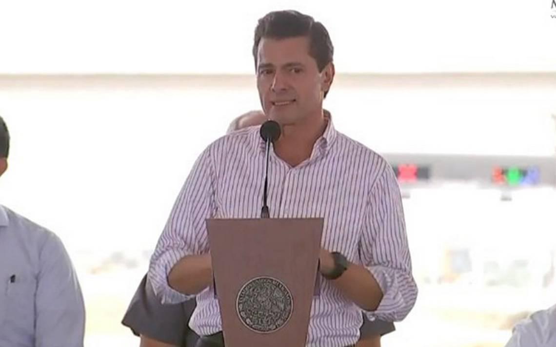 Violencia en el país es por tráfico de armas y dinero de EU, señala Peña Nieto