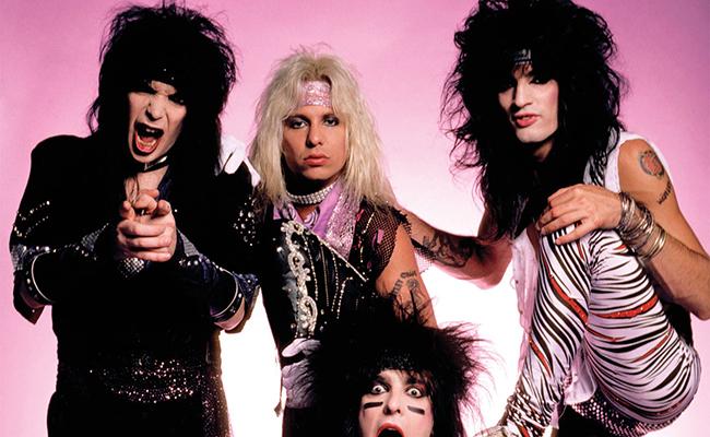 Netflix negocia película sobre la banda Mötley Crüe