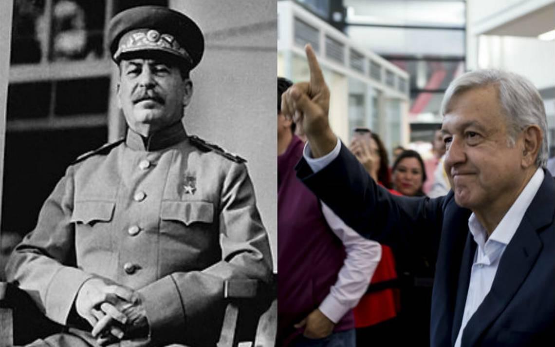 Twitter estalla por comparación entre el dictador Stalin y López Obrador