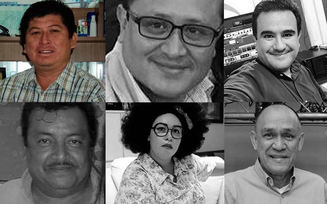 Suman seis periodistas asesinados durante 2018 en México